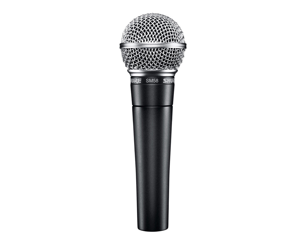 Shure SM58 'Industry Standard' Vocal Dynamic Cardioid Mic - Musko Music Store