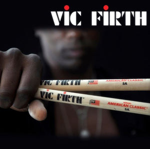 Vic Firth Professional Drum Sticks 5A Hickory Walnut - Musko Music Store