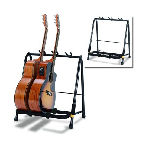 Hercules 3-Way Folding Guitar Stand Rack, suitable for Guitar and Bass - Musko Music Store