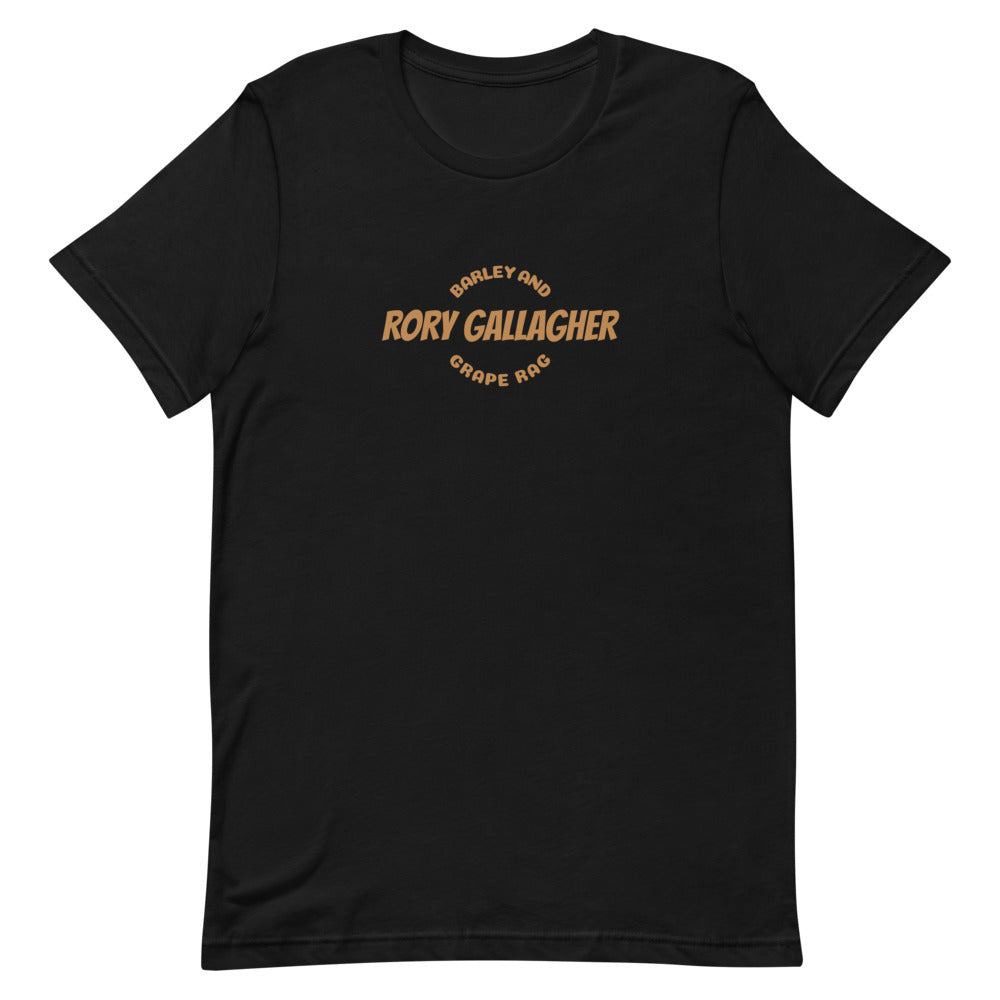 Rory Gallagher - Barley and Grape Rag T-Shirt - Musko Music Store