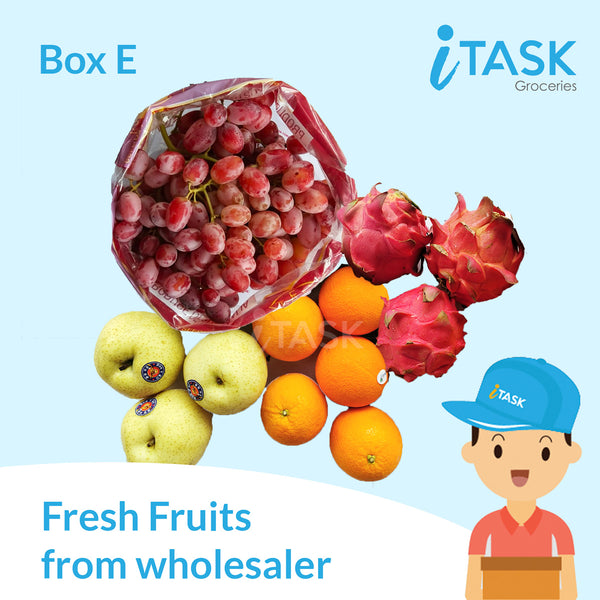 Fresh Fruits Box E 新鲜水果配套 E