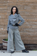 Load image into Gallery viewer, RUFFLES JACKET- GREY