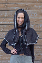 Load image into Gallery viewer, COZY CAPELET - CHARCOAL