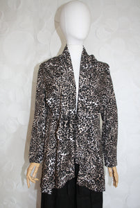 CIRCLE SWEATER LEOPARD