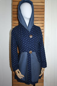 Justify Jacket Blue Denim
