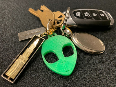 Alien Key Chain - Loner Store