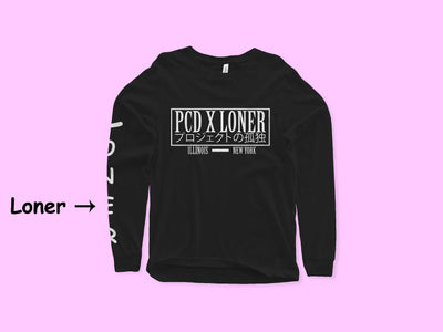 Black Loner x PCD Collab Long Sleeve - Loner Store
