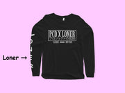 Glow in the Dark Loner x PCD Collab Long Sleeve - Loner Store