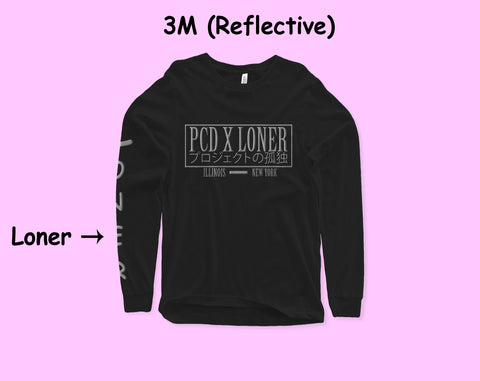 3M (Reflective) Loner x PCD Collab Long Sleeve - Loner Store