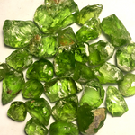 Peridot Rough Gemstones for sale