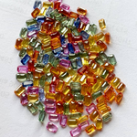 50ct 5x3m Octagon Rainbow Sapphires Calliberated Deal - Folkmarketgems