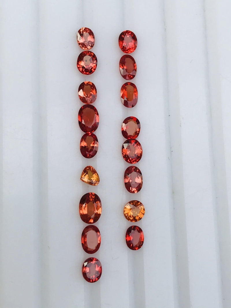 Loose Sapphires for Sale - Beryllium Heated