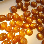 Natural star sunstone cabochons gemstone for sale