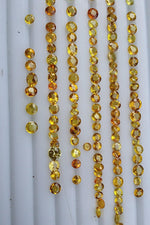 32ct Yellow Sapphire Gemstones for Sale - Folkmarketgems
