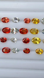 natural faceted gemstones fancy color sapphires available online