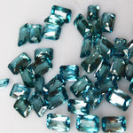 Calibrated Stones - Loose Blue Zircon Gems for Sale