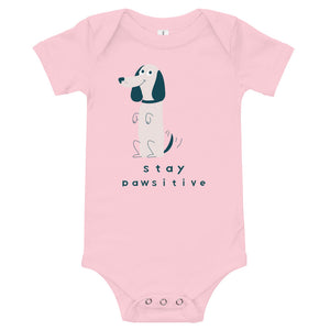 Stay Pawsitive Onesie