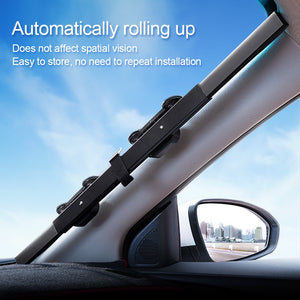 Retractable SUV Truck or Car Front Windshield Sunshade