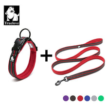 Load image into Gallery viewer, Reflective Dog Collar And Leash Set