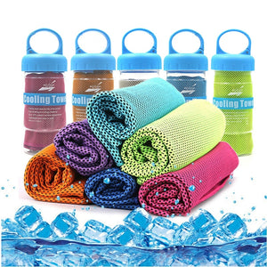 Outdoor Sport Ice Towel Rapid Cooling Microfiber Quick-Dry Ice Towels For Fitness Yoga Summer Enduring Instant Chill Towel