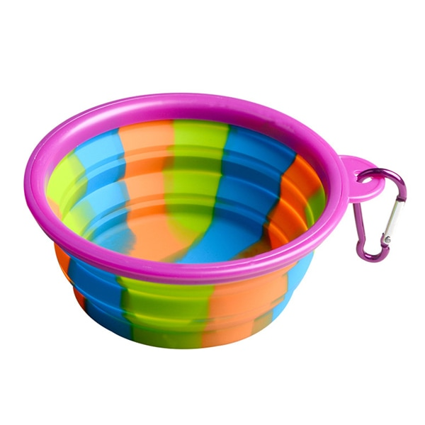 Groovy Dog Bowl