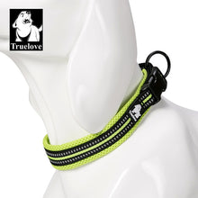 Load image into Gallery viewer, Green Comfortable dog collar modern design