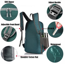 Load image into Gallery viewer, Waterproof Lightweight Backpack