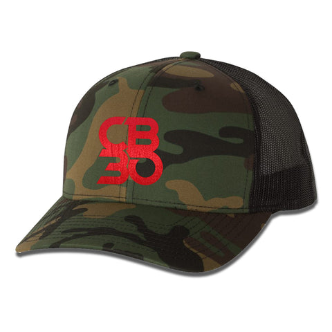 CB30 Stacked Logo Hat - Camo