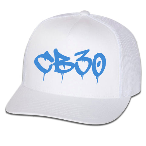 CB30 Graffiti Drip Logo Hat