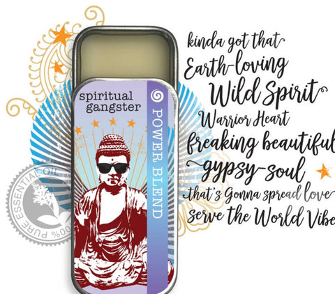 Spiritual Gangsta Essential Oil Solid Perfume