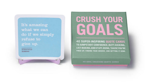 Crush Your Goals Inner-Truth ~ Card Deck