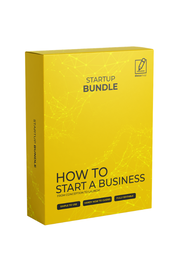 How to Start a Business - Template Bundle