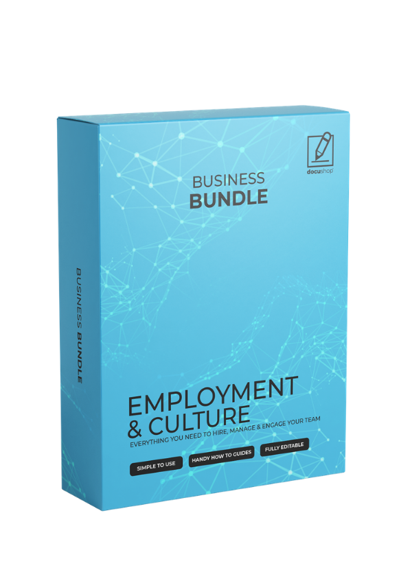 HR & Culture Template & Guide Bundle
