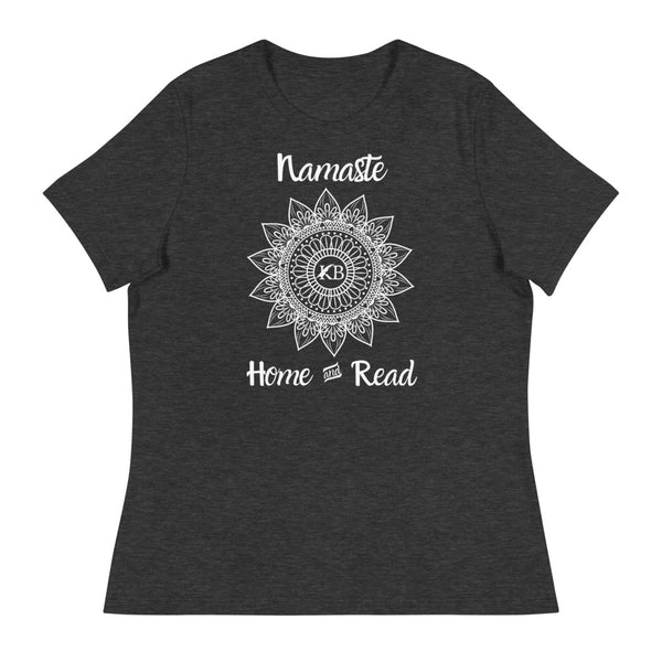Women's Namaste Home & Read Relaxed Yoga T-Shirt