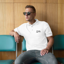 Load image into Gallery viewer, BIRDIES ARE FOR THE BOYS // MEN'S PREMIUM POLO WHITE