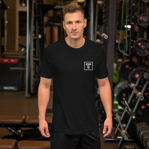 TILLIS ORIGINAL MEN'S SHORT-SLEEVE TEE // BLACK