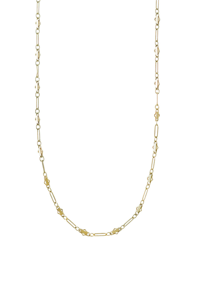 Angelica fancy chain gold choker - KOOKII B