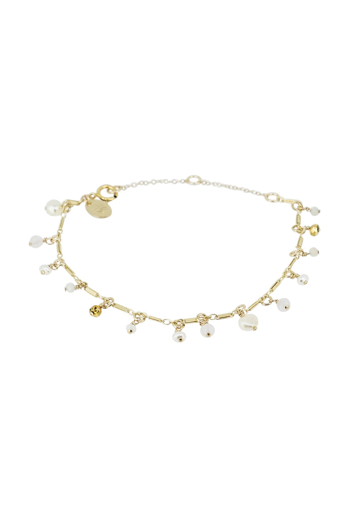 Irise Rose and pearl drops bracelet - KOOKII B
