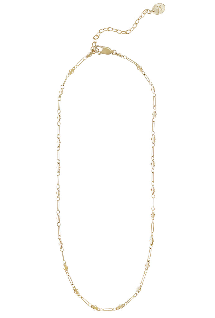 Angelica fancy chain gold necklace - KOOKII B