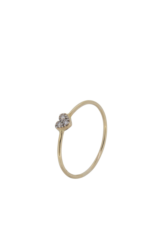 Honor heart diamond ring - US5 - KOOKII B