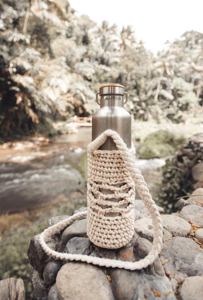 Jambu Macrame Bottle Holder