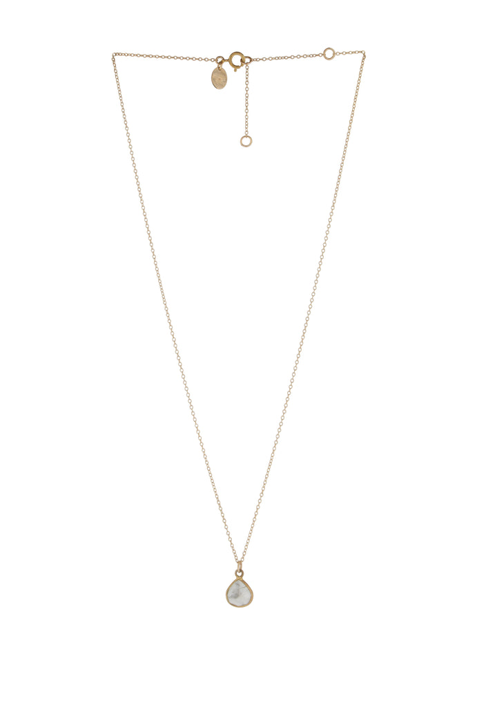 Jemme Howlite drop necklace - KOOKII B