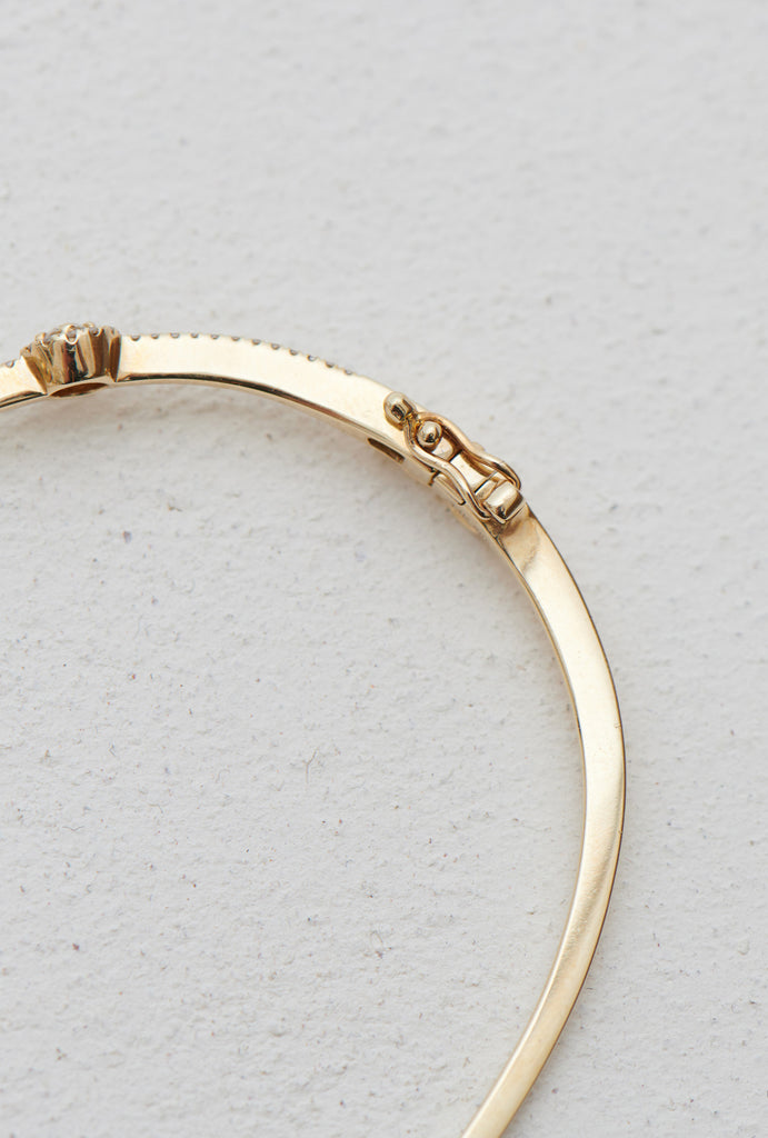 Freya Diamond Crown Signature Bangle