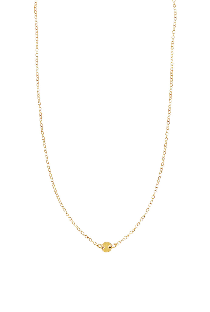 Lorna tiny dot gold chain choker - KOOKII B