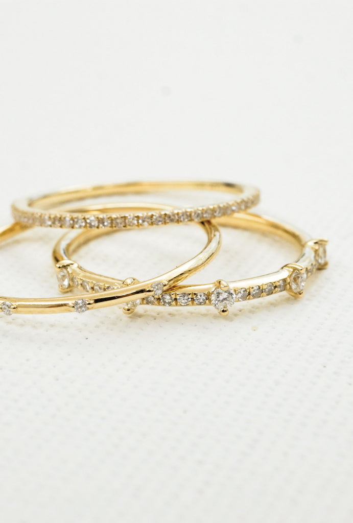 Halo infinity diamond band ring - KOOKII B