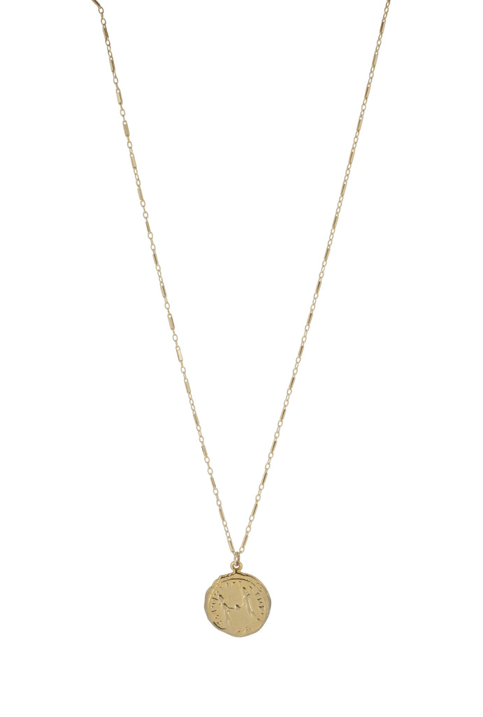 Vici gold coin pendant necklace