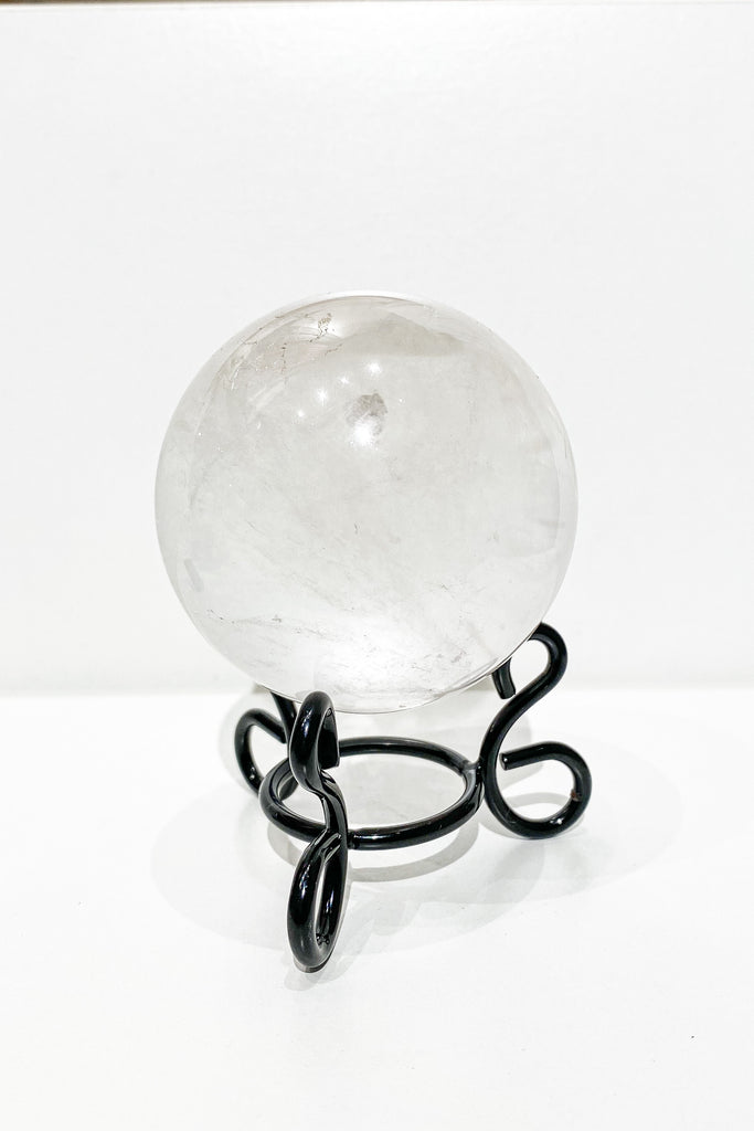 Clear Quartz Crystal Sphere 60mm