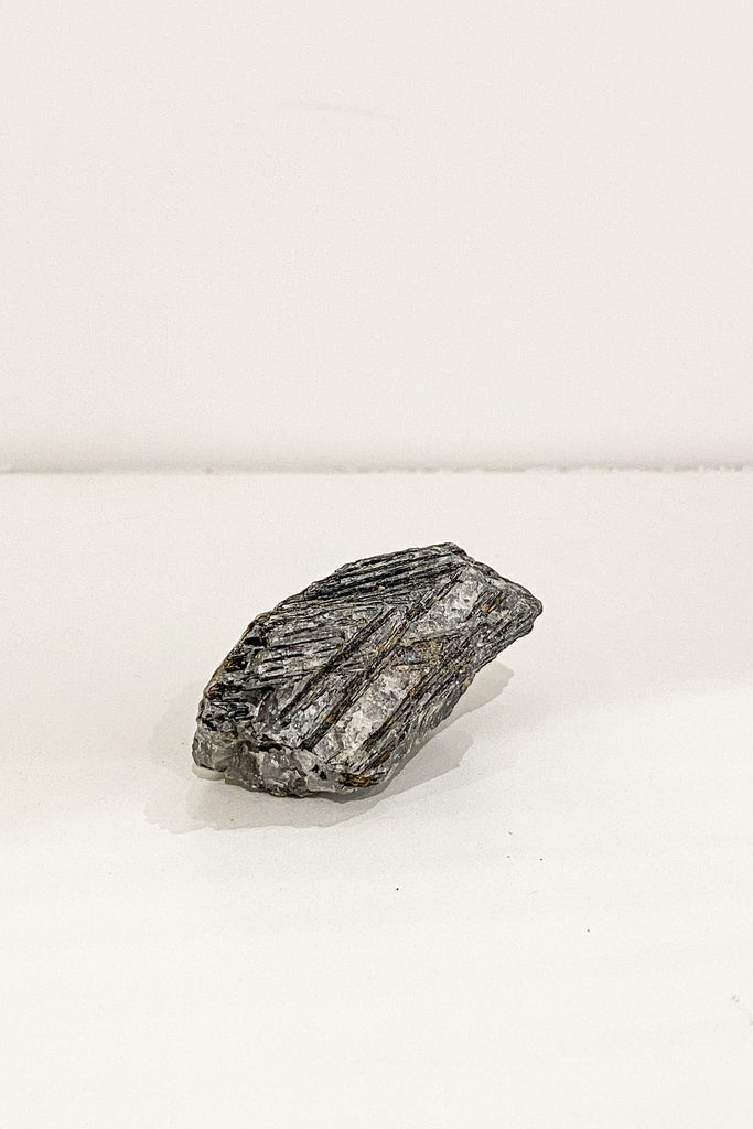 Unidentified black kyanite