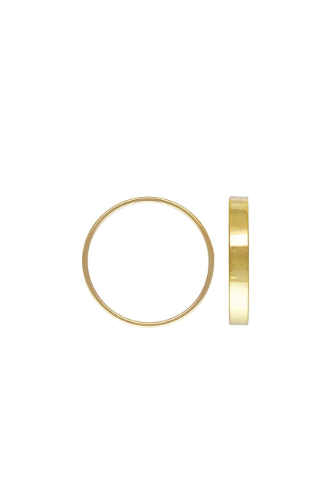 Flat Stacker Gold Ring US5 - KOOKII B