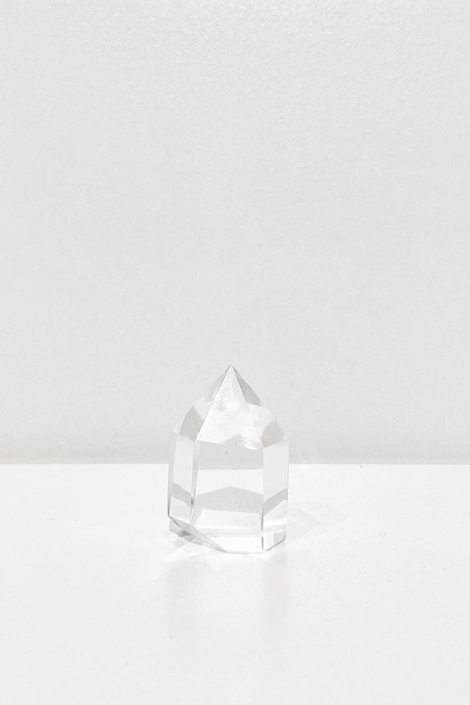 Clear Quartz Crystal Manifestation Tower Point - S